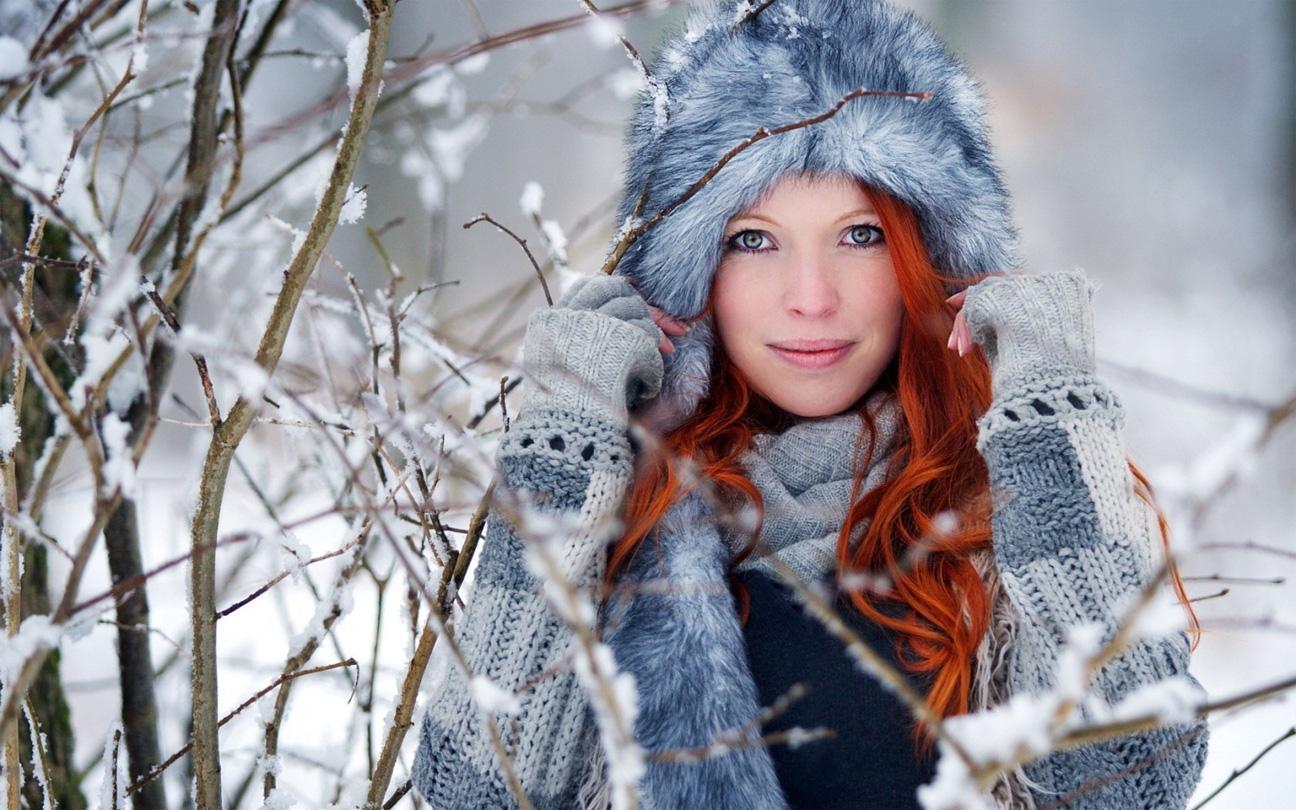 En invierno cabello necesita mucho cariño y cuidado